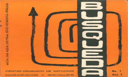 Tapa del cuaderno número 1 de Búsqueda, enero de 1972