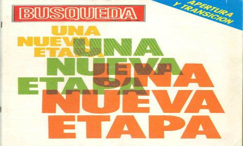 Última tapa con formato revista, corresponde al número 104 del año 1981