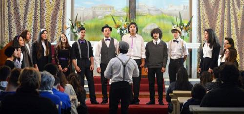 Coro cantando