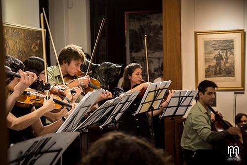 Orquesta Típica Bien de Abajo, Casa de Rivera