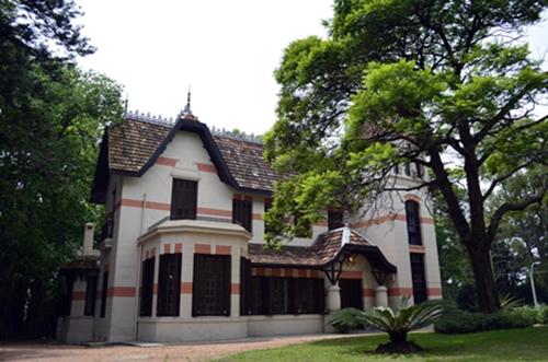 Fachada Quinta del Dr. Luis Alberto de Herrera