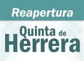 Reapertura Quinta de Herrera