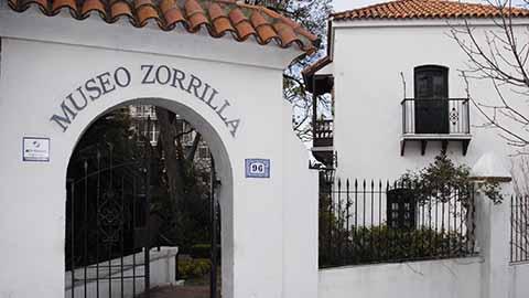 Entrada al Museo Zorrilla