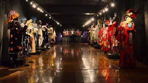 Exhibición de trajes de murga