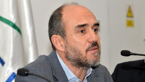 David González hablando en presentación del Mapeo