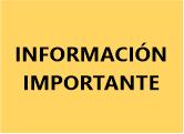 Información Importante