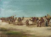 """Estudio de la pintura """"Encuentro de dos caravanas beduinas"""""""