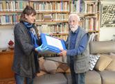 Nueva donación al Museo de dibujos de Pallejá, realizada por Nelson Di Maggio