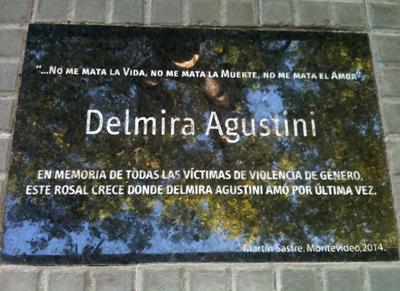 memorial a las víctimas de violencia de género