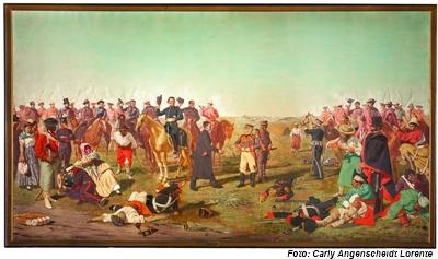 Batalla de Las Piedras, obra de Juan Luis Blanes
