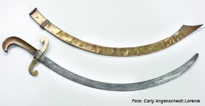 Sable de marina usado en la Batalla de Las Piedras