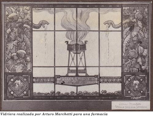 Vidrieras de Arturo Marchetti