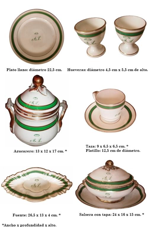 Servicio de mesa de Andrés Lamas
