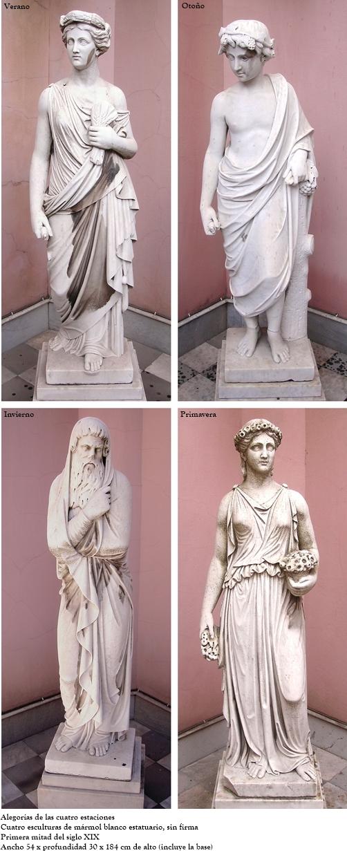 Alegorías de las cuatro estaciones