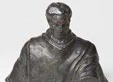Boceto a escala reducida del busto de José Artigas